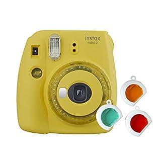 Fujifilm instax Mini 9 Kamera mit Farblinsen, gelb 1