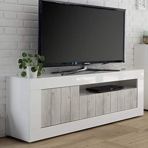 Kasalinea Mabel 3 - Mueble para televisor, Color Blanco Lacado y ...