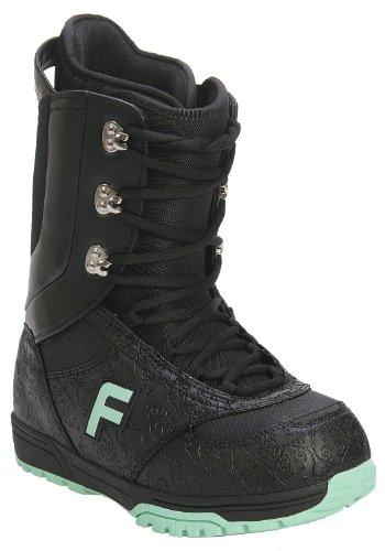 Forum Destroyer Snowboard Boots Black Women's Sz 4 (Forum Destroyer)
