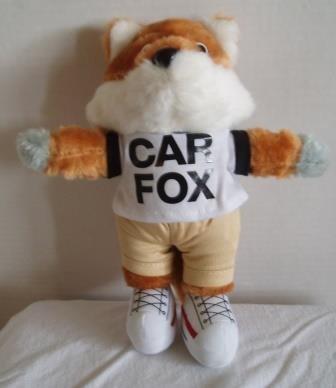 Amazon Com Show Me The Carfax Car Fox Plush 9 Inches By Carfax