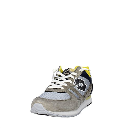 Camoscio Tessuto Grey Sportive Olive Grey Uomo Olive Scarpe Lotto Opal S8843 40 Opal FqIxX