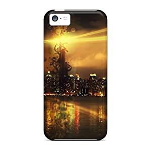 New Cute Funny Creation City Cases Covers/ Iphone 5c Cases Covers