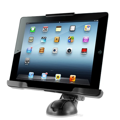 iOttie Easy Smart Tap Dashboard Car Desk Mount Holder Cradle for iPad 2/3/4 (HLCRIO107) by iOttie