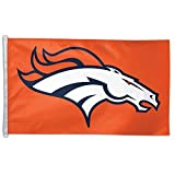 WinCraft NFL Denver Broncos WCR55524014 Team Flag, 3' x 5'