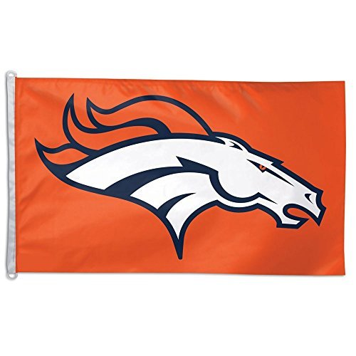 WinCraft NFL Denver Broncos WCR55524014 Team Flag, 3' x 5' by WinCraft
