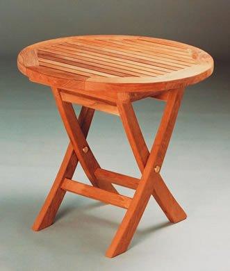 Amazon.com: tbf020r 20-inch Mini lado mesa redonda plegable ...