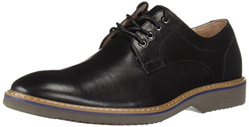 Florsheim Men's Union Plain Toe Oxford Dress Casual Shoe Black/Gray, 8.5 Medium - Florsheim Casual Oxford