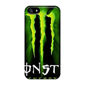 SherieHallborg Iphone 5/5s Perfect Cell-phone Hard Cover Provide Private Custom Beautiful Monster Skin [oiI10274FgGv]