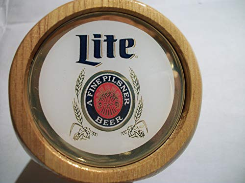 Miller Lite Throwback Vintage Style Beer Tap Handle Keg Marker New