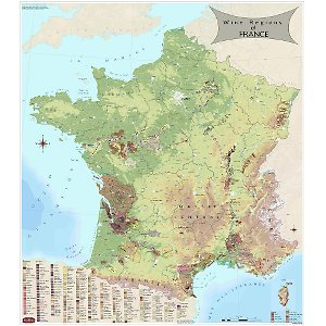France Map Region Wine - Wine Region Map For France
