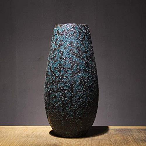 セラミック花瓶飾りリビングフラワーアレンジメント飾り/緑/サイズ(20cm×42cm) QYSZYG B07RHYNX1J