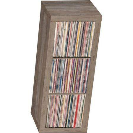 Storage & Media Accessories Loyal Storage Bin Cabinet Organizer 3 Cube Vinyl Record Shelf Lp Crate Vintage Shelves