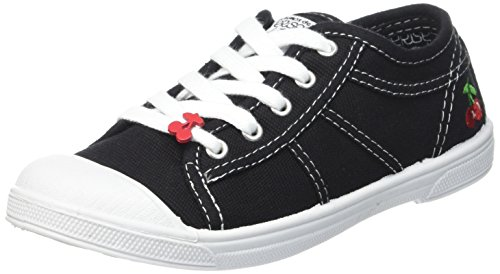 Lc Unisex Basic Kids' 02 Le Hi Temps Top Cerises des Black Sneakers Black qYwxtHp