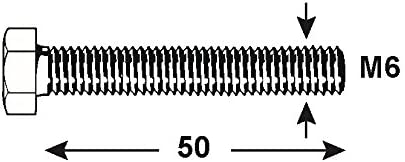 1000 g KL4530525 Edelstahl DIN 933 Connex Sechskantschrauben M5 x 25 mm