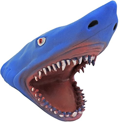 Soft Rubber Great White Shark Hand (Costumes For Puppets)