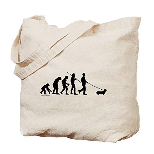 CafePress Dachshund Evolution Tote Bag - Standard Multi-color by CafePress