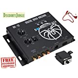 FOR Soundstream BX-10 Digital Bass Processor with Remote + 1.5ft RCA cable epicenter