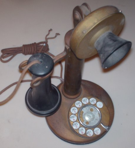Western Electric Dial Candlestick Phone