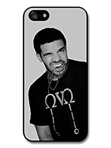 Accessories Drake Biting Chain Black & White Case For Ipod Touch 5 Cover