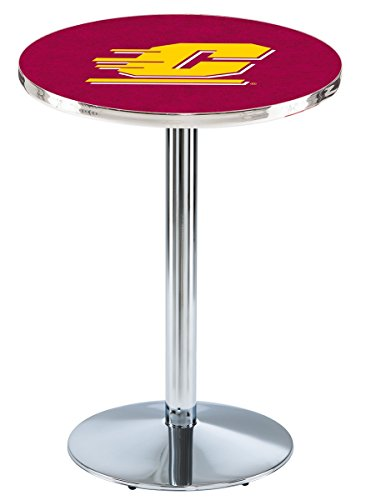 Holland Bar Stool L214C Central Michigan University Officially Licensed Pub Table, 28