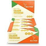 Bulletproof Collagen Protein Bars, Perfect Keto Diet Snack Bar for Men and Women (Lemon Cookie)