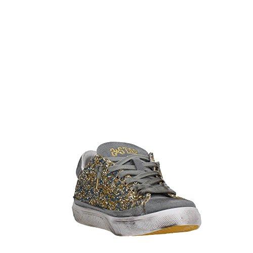2 Star 2SD123 Sneakers Mujer GLITTER ORO
