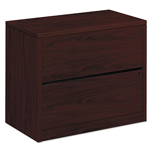 Hon 10500 Series Wood - HON 10563NN 10500 Series Two-Drawer Lateral File 36w x 20d x 29-1/2h Mahogany