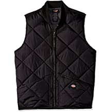 Dickies Men's Diamond Quilted Nylon Vest