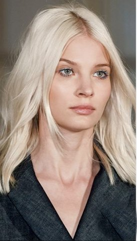 Platinum Blonde Peggy Sue Wig (Lace Front Wigs Natural Wave Blonde Human Hair Wigs pure 613# 150% Density With Baby Hair 100% Brazilian Human Remy Hair (22inch, Lace Front Wig))
