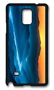 MOKSHOP Adorable himalaya nepal Hard Case Protective Shell Cell Phone Cover For Samsung Galaxy Note 4 - PCB