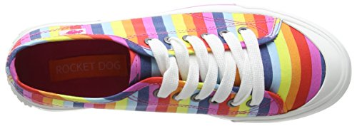 Multi Multicolour Jumpin Rocket Pink Sneaker Dog Donna a0xfSq