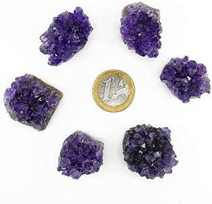 Mineral Import Cabujon Drusa de Amatista: Amazon.es: Hogar