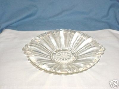 Anchor Hocking Old Cafe Depression Glass Candy Bowl - Depression Glass Candy Jar
