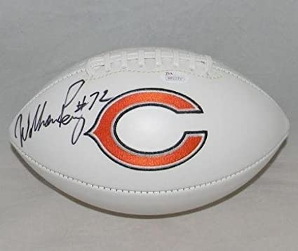 ab8e9d9284c Image Unavailable. Image not available for. Color: William Refrigerator  Perry Autographed Signed Chicago Bears ...
