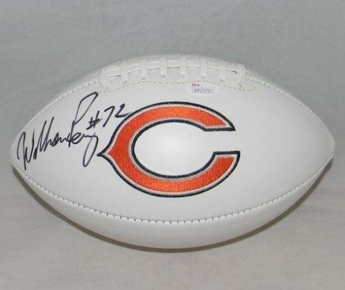 3511bb95583 William Perry Chicago Bears Signed Football