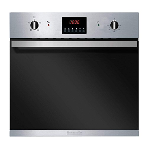 Baumatic BO625SS 60cm Fan Assisted Electric Built-in Single Oven In Stainless Steel
