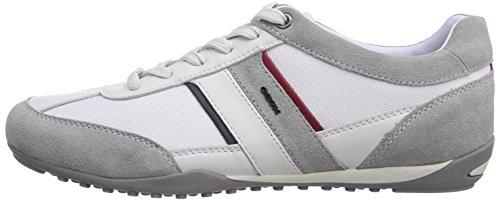 Zapatillas Geox Icec0130 Blanco para White Wells C U Weiß Hombre aqw7qxR