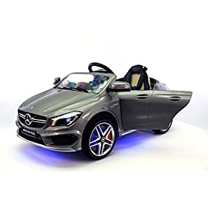 2016-12V-Mercedes-CLA45-Electric-Powered-Battery-Operated-LED-Wheels-Kids-Ride-on-Toy-Car-With-Parental-Remote-Control