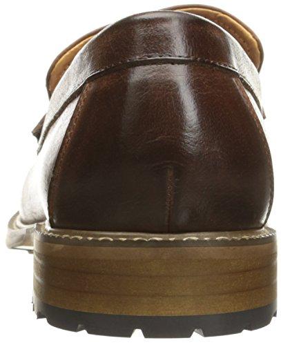 Engelska Tvätt Mens Park Slip-on Loafer Cognac