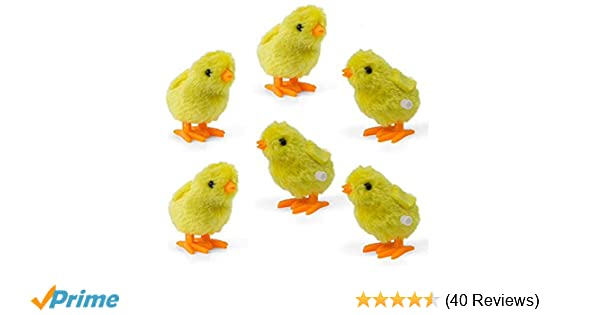 91597dbf6adc Amazon.com  Wind-Up Novelty Jumping Chicken – Party Favor Gag Toy ...