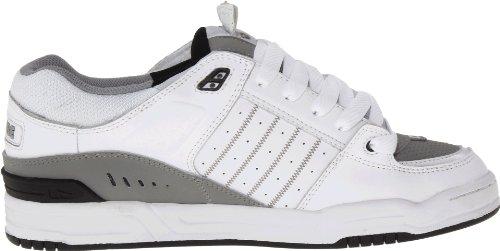 Globe  Fusion, Herren Skateboardschuhe Weiß White/Grey/Black