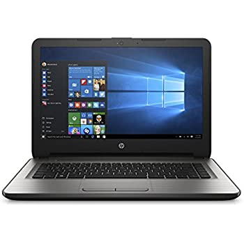 HP 14-inch Laptop, AMD E2-7110, 4GB RAM, 500GB hard drive, Windows 10 (14-an090nr, Silver)