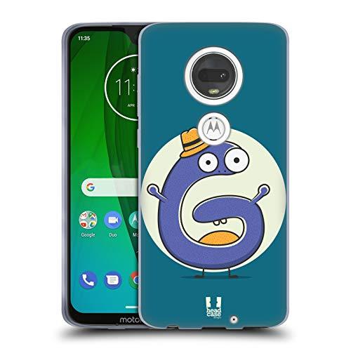 Head Case Designs Sir G Alphabet Monster Soft Gel Case for Motorola Moto - Monster G Moto Case