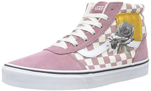 Vans Damen Ward Hi Suede/Canvas Hohe Sneaker