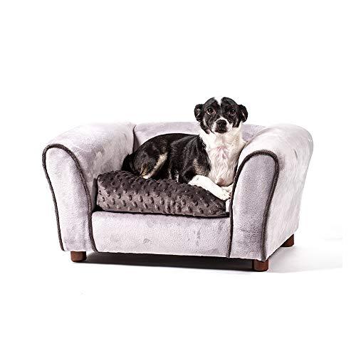 Keet Westerhill Pet Sofa Bed, Charcoal, Small
