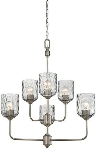Westinghouse Lighting 6326300 Basset Six-Light Indoor Chandelier