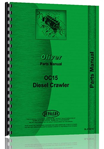 Oliver OC-15 Cletrac Crawler Parts Manual