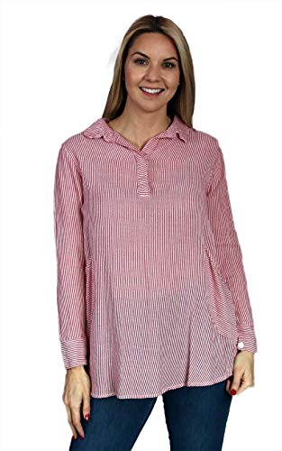 Tulip Clothing Brenna Tunic - Maui Stripe