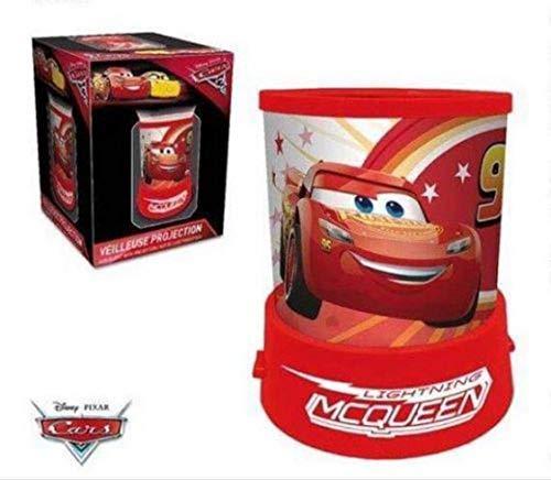 Lamparilla batería DISNEY Mcqueen Cars Proyector en rojo - LR2248 ...