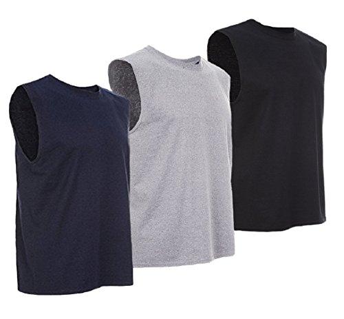 Sleeveless Mens Training Shirt - 9